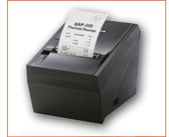 מדפסת תרמית - פתקית ארוחה/ קפיטרייה