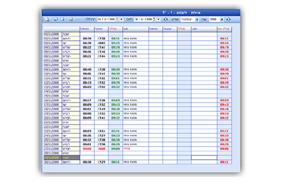 תוכנת נוכחות עובדים - מסך דיווחי נוכחות / משימות